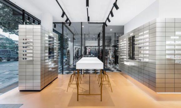Der neue VIU Store in Hannover - Innenansicht