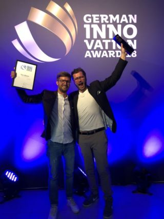 You Mawo: German Innovation Award - Daniel Miko und Sebastian Zenetti