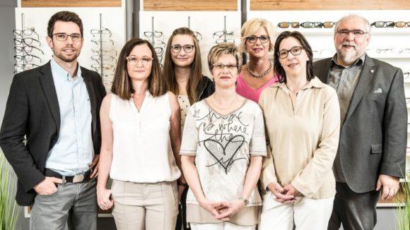 eyebizz-Serie Medelnik: das Team von Brillen Wichmann