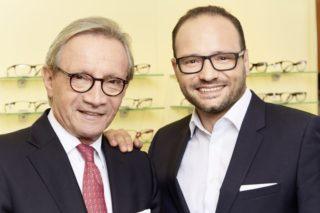 Binder Optic: Helmut und Dominic Baur