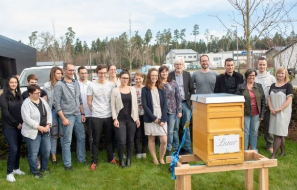 Das Lunor-Bienenvolk in Kooperation mit Beefuture