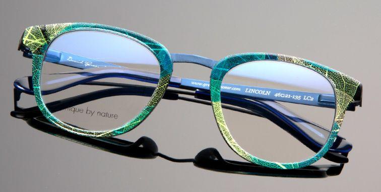 Natur Design Blatter In Der Brille Eyebizz