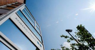 Koberg + Tente: das Firmengebäude