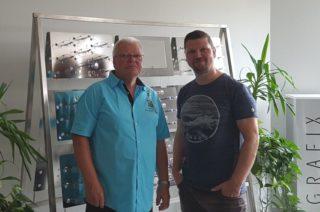 MOM Grafix: Wolfgang und Mathias Schroeder