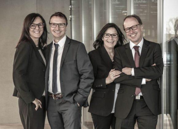 Optik Ganz: Andrea und Christoph Ganz sowie Anita und Klemens Ganz