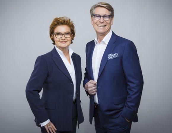 Pleines Fashion Optik: Evelin und Rolf Dieter