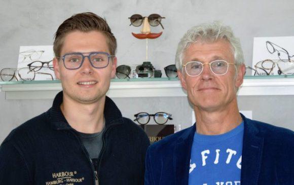 Harbour Brillen: Lukas und Boris Pietron