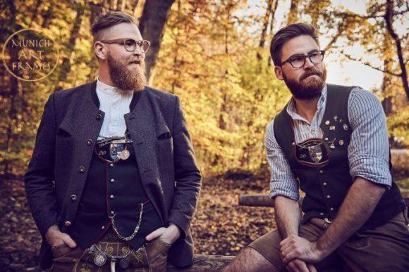 Munich Art Frames: die Models Julian und Dominik