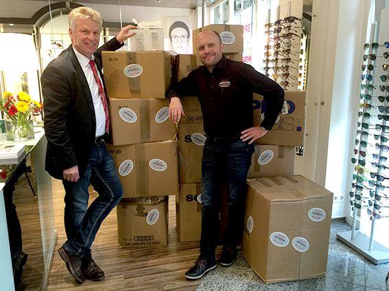Brillen Mosqua: Spendenaktion 2018