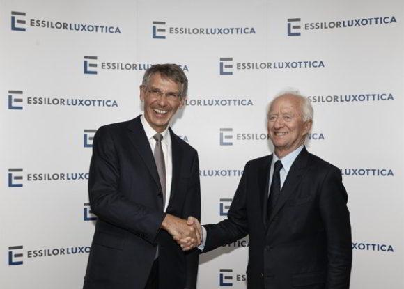 EssilorLuxottica: Hubert Sagnières und Leonardo Del Vecchio