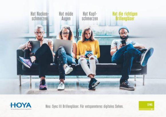 Hoya-Kampagne: Einführung Sync