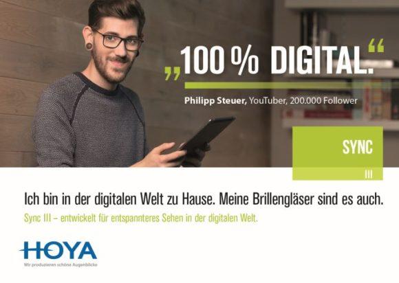 Hoya: Online-Kampagne zu Sync III mit Philipp Steuer