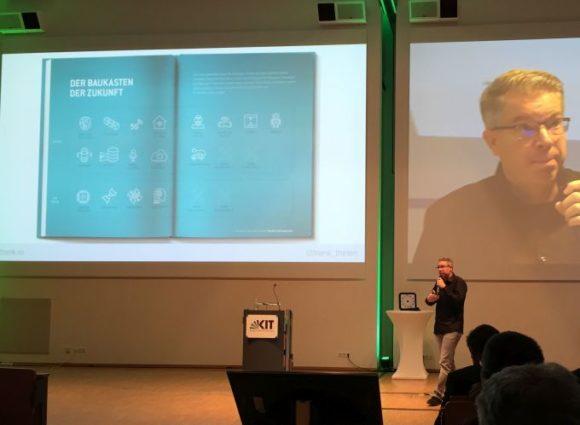 KIT: Vortrag von Frank Thelen - Baukasten der Zukunft