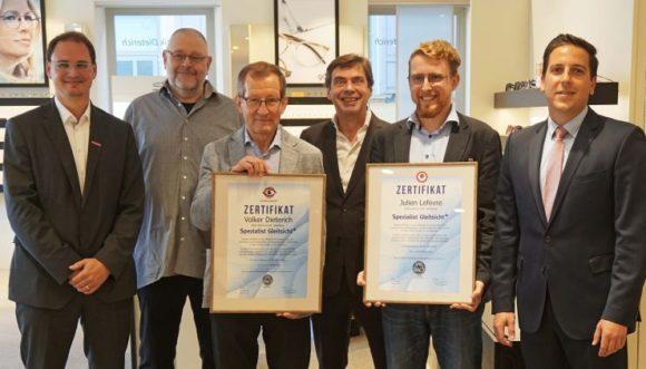 WVAO: neue Gleitsicht-Spezialisten bei Optik Dieterich