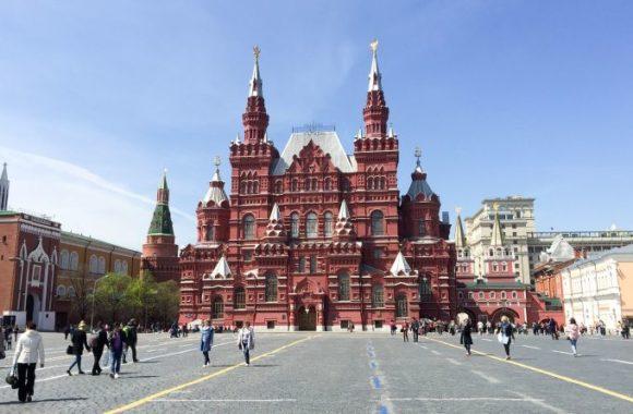Der Rote (schöne) Platz in Moskau