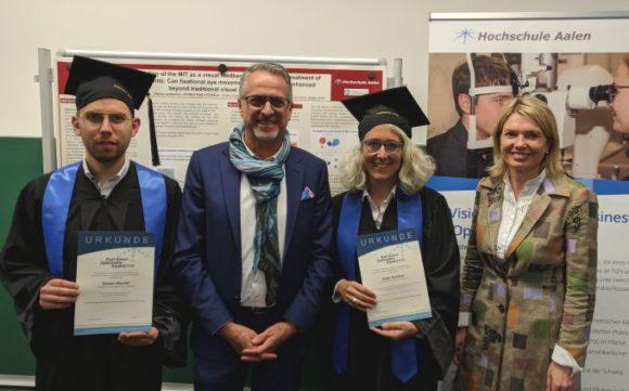 Karl Amon Optometry Award 2018 an der Hochschule Aalen