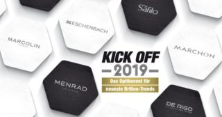 Kick Off 2019 mit neuen Brillentrends