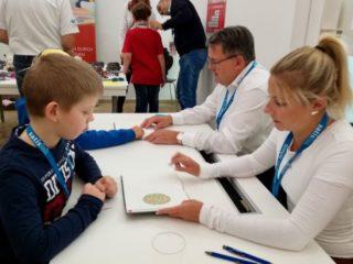 Sehtest-Aktion in Wetzlar im Viseum