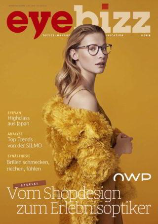 eyebizz Titelseite Ausgabe 6.2018