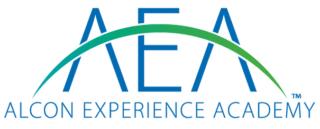 Alcon Experience Academy - das neue Logo der AEA