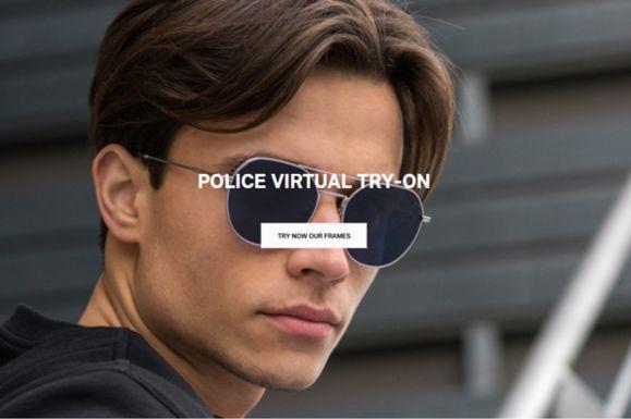 De Rigo - Brillenmarke Police Eyewear - Virtual try on