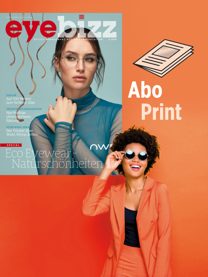 Produkt: eyebizz Jahresabonnement Print