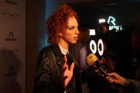 Anna Ermakova beim Interview