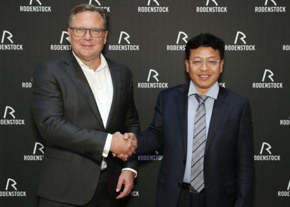 Rodenstock und TR Optical - Oliver Kastalio und Alex Tang