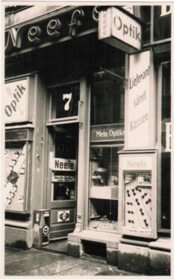 Jubiläum 2019 - Optiker Neefe - Ladengeschäft Eröffnung Februar 1919