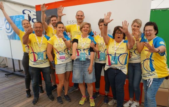 Special Olympics - Opening Eyes - Essilor-Team