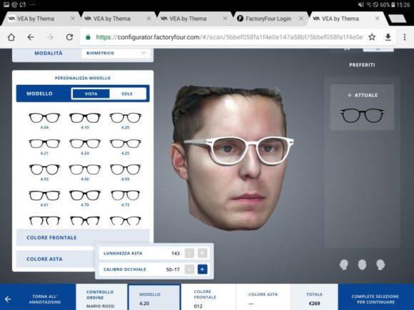 Thema Optical - VEA - Kunden klicken zur passenden Brille