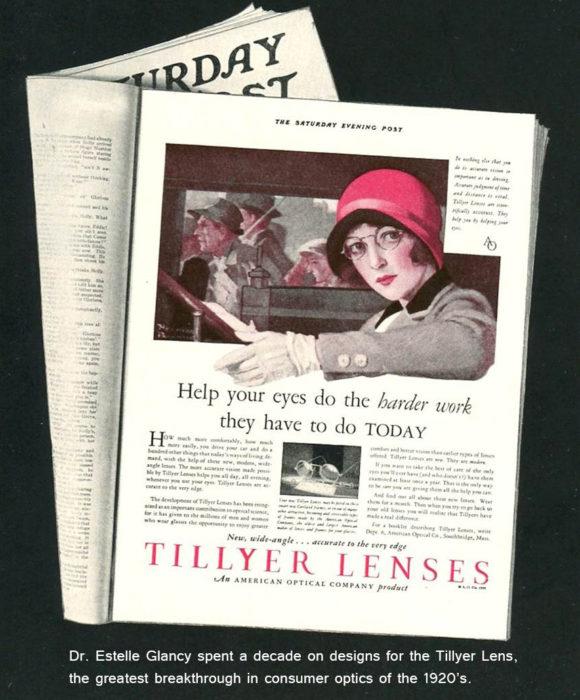 Tillyer Lenses - die ersten Gläser mit korrigierter axialer Aberation