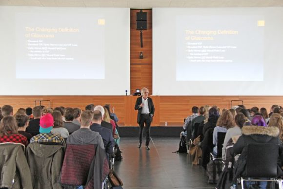 Hochschule Aalen - Vortrag Glaukom - Tony Cavallerano