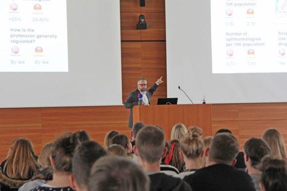 Hochschule Aalen - Vortrag Optometrie - Hans Torvald Haugo