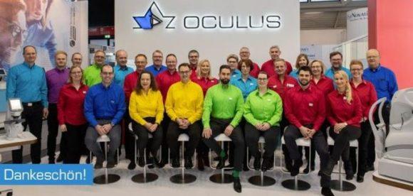 Oculus Gruppenbild opti-Stand 2019