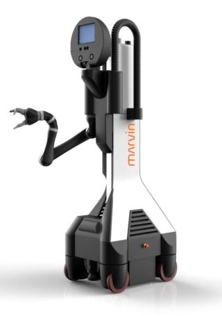 Roboter Marvin - Künstliche Intelligenz - Prof. Wolfgang Ertel