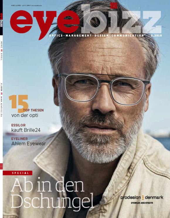 eyebizz Titelseite Ausgabe 2.2019