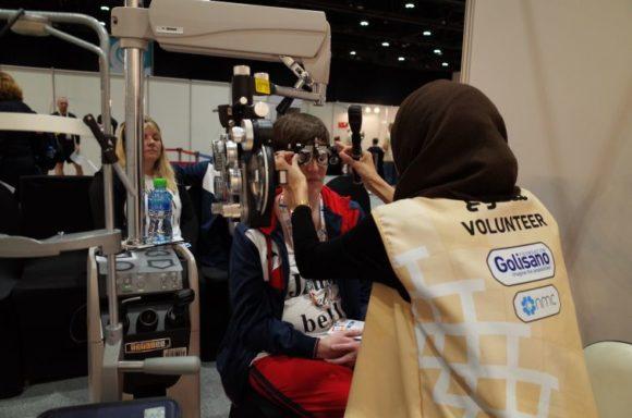 ZVA - Opening-Eyes-Programm sorgt für gute Sicht bei Athleten