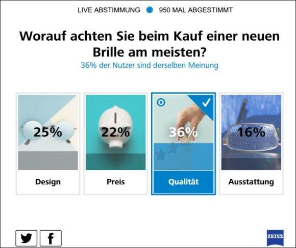Zeiss Umfrage UV-Schutz - Grafik 3