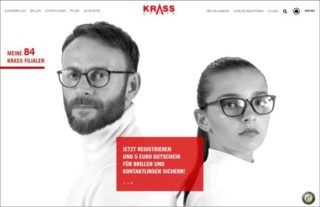 Krass Optik - Website
