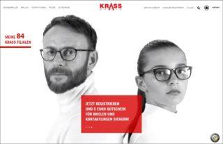 Krass Optik - Website