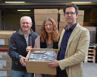 Eschenbach Optik - Brillen-Spende an Vision for the World