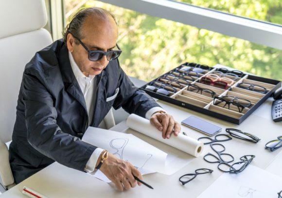 Harbour Brillen - Hadi Teherani bei der Arbeit