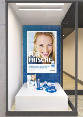 MPGE - POS-Kampagne Für Frische - Schaufenster