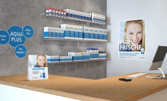 MPG&E - POS-Kampagne zur Kontaktlinsen-Pflege
