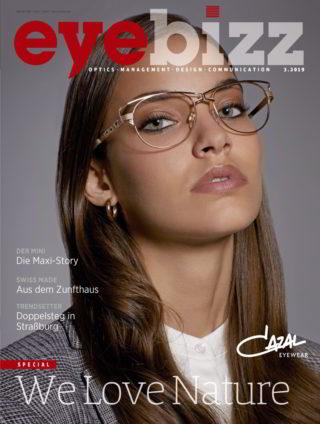 eyebizz Ausgabe 3.2019 mit Cazal