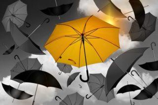 Regenschirme - Individualität ist Trumpf