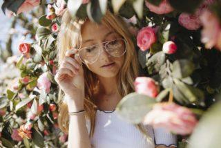 Doppelsteg-Brille - wieder im Trend
