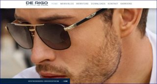 De Rigo DACH - website