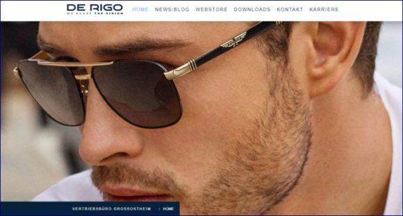 De Rigo DACH - website